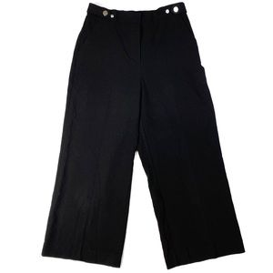 New York & Company High Rise Wide Leg Crop Pants